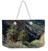 Desert Palms Weekender Tote Bag