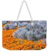 Desert Poppies And Sage Weekender Tote Bag