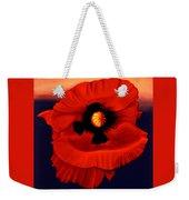 Desert Poppy Weekender Tote Bag