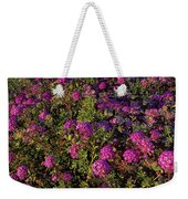 Desert Sand Verbena Wildflowers Weekender Tote Bag