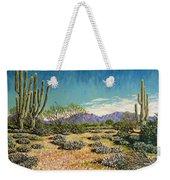 Desert Scene Near Carefree Weekender Tote Bag