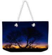 Desert Silhouette Weekender Tote Bag