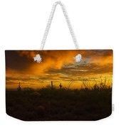 Desert Southwest Skies  Weekender Tote Bag