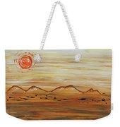 Desert Sun Weekender Tote Bag