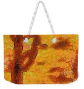 Desert Sunset Photo Art 04 Weekender Tote Bag