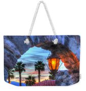 Desert Sunset View Weekender Tote Bag