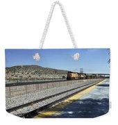 Desert Train Weekender Tote Bag