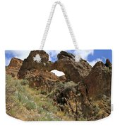 Desert Wildflowers Grand Arch  Weekender Tote Bag