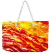 Desert Wind Abstract I Weekender Tote Bag