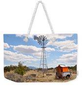 Desert Windmill Weekender Tote Bag