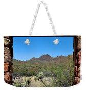 Desert Window Weekender Tote Bag