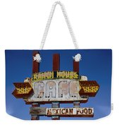 Deserted Cafe Weekender Tote Bag