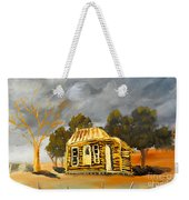 Deserted Castlemain Farmhouse Weekender Tote Bag
