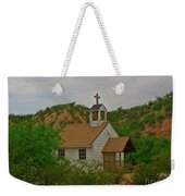 Deserted Church Weekender Tote Bag