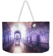 Deserted Prison Hallway Weekender Tote Bag