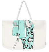 Design For A Day Dress C 1919 Weekender Tote Bag