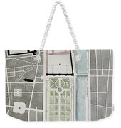 Design For Joining The Tuileries To The Louvre, 1808 Wc On Paper Weekender Tote Bag