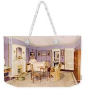 Design For The Interior Of A Bedroom Weekender Tote Bag