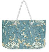 Design In Turquoise Weekender Tote Bag