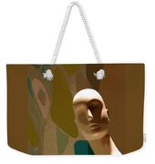 Design With Mannequin Weekender Tote Bag