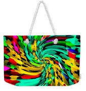 Designer Phone Case Art Colorful Rich And Bold Abstracts Cell Phone Covers Carole Spandau Cbs Art136 Weekender Tote Bag by Carole Spandau