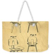 Designs For A Eames Chair Weekender Tote Bag by Edward Fielding