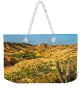 Desolate Desert Landscape Weekender Tote Bag