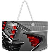 Desoto Red Tail Lights In Black And White Weekender Tote Bag