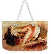 Despair - The Nude In Sadness Weekender Tote Bag