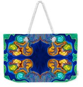 Destiny Unfolding Into An Abstract Pattern Weekender Tote Bag