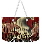 Destruction Of The Earth Abstract Weekender Tote Bag