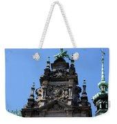 Detail City Hall Hamburg Weekender Tote Bag