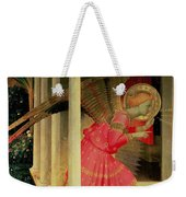 Detail From The Annunciation Showing The Angel Gabriel Weekender Tote Bag