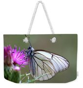 Detail Of A Butterfly In Alto Tajo Weekender Tote Bag