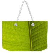 Detail Of Banana Leaf Andromeda Weekender Tote Bag