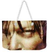 Detail Of Daryl Dixon  Weekender Tote Bag