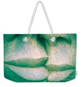 Detail Of Human Sculpture With Lips Ready To Kiss Weekender Tote Bag