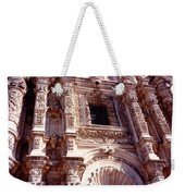 Detail Of The National Cathedral Of Guatemala Weekender Tote Bag
