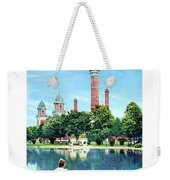 Detroit - Gladwin Waterworks Park - Jefferson Avenue At The Detroit River - 1905 Weekender Tote Bag