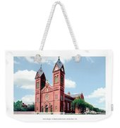 Detroit - Sheridan Avenue - St Anthony Catholic Church - 1910 Weekender Tote Bag