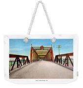 Detroit - The Belle Isle Bridge - 1908 Weekender Tote Bag