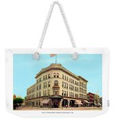 Detroit - The Brunswick Hotel - Grand Rive And Cass Avenues - 1900 Weekender Tote Bag