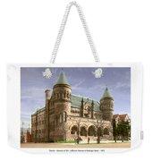 Detroit - The Museum Of Art - Jefferson Avenue At Hastings Street - 1905 Weekender Tote Bag