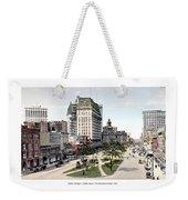 Detroit - Cadillac Square - 1905 Weekender Tote Bag