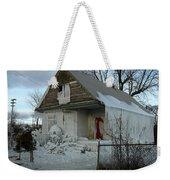 Detroit Ice House Weekender Tote Bag