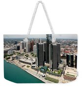 Detroit International Riverfront Weekender Tote Bag