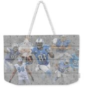 Detroit Lions Team Weekender Tote Bag