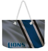 Detroit Lions Uniform Weekender Tote Bag