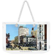 Detroit - Michigan And Griswold Avenues - 1910 Weekender Tote Bag