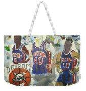 Detroit Pistons Bad Boys  Weekender Tote Bag